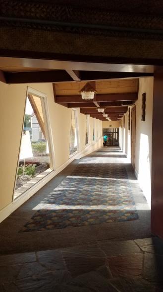 Hallway leading to lobby
