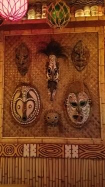 Polynesian masks