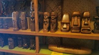 Small Tiki statues