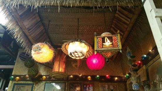 Tiki lamps galore!
