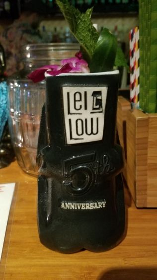 Lei Low 5th Anniversary mug by Eekum Bookum